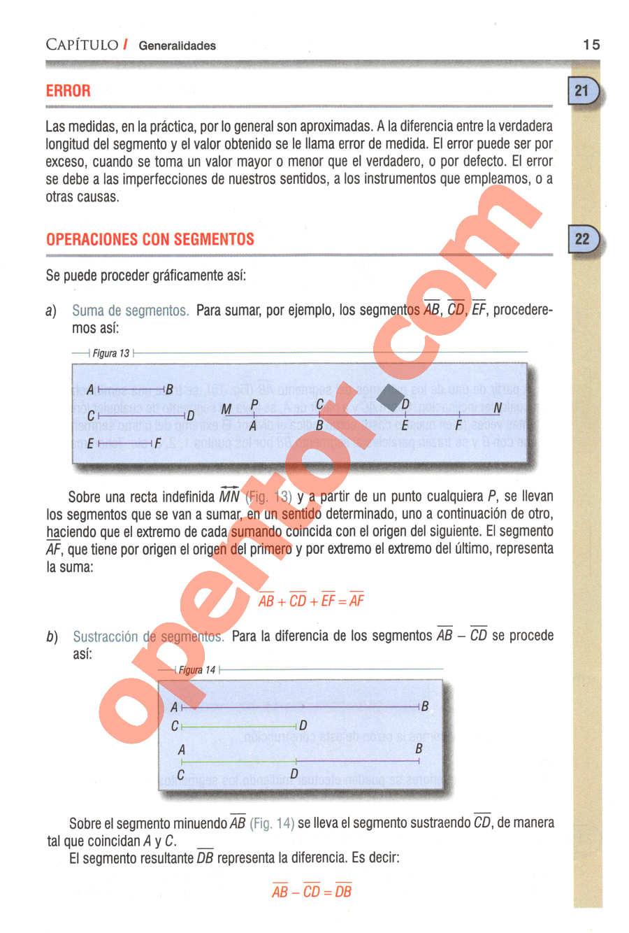 Geometría y Trigonometría de Baldor - Página 15