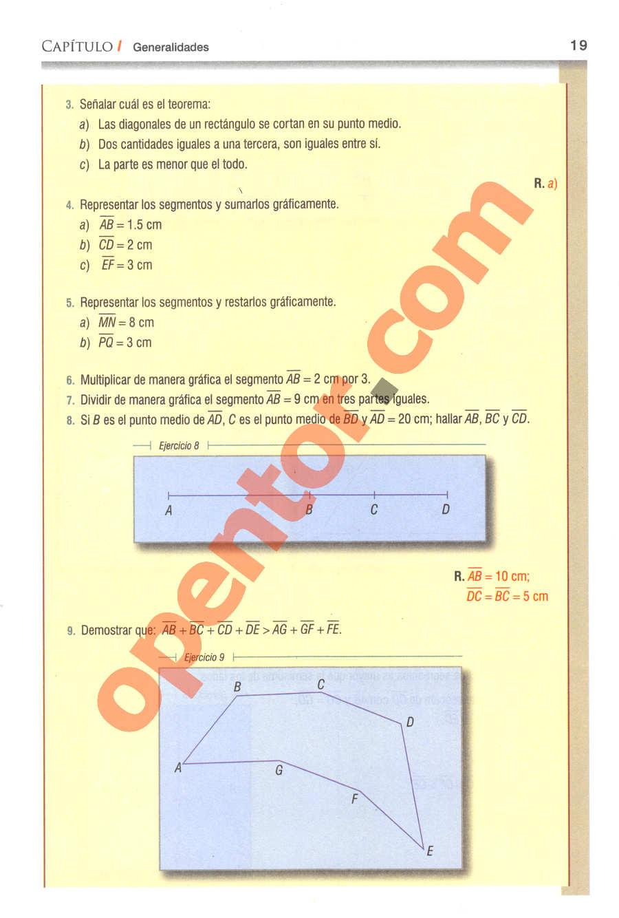 Geometría y Trigonometría de Baldor - Página 19
