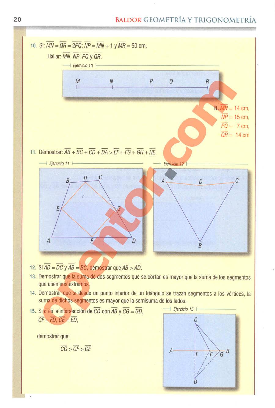 Geometría y Trigonometría de Baldor - Página 20