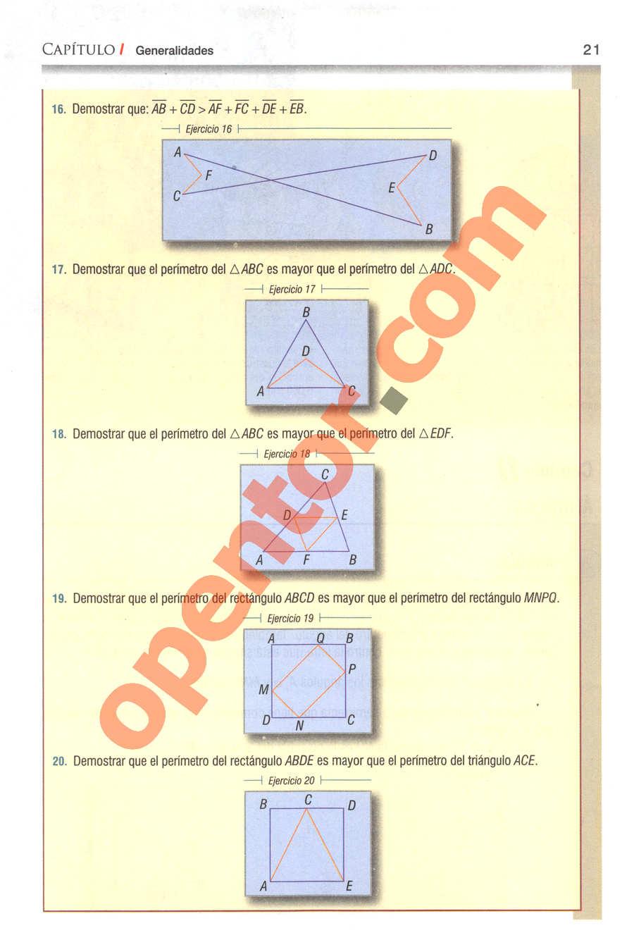 Geometría y Trigonometría de Baldor - Página 21