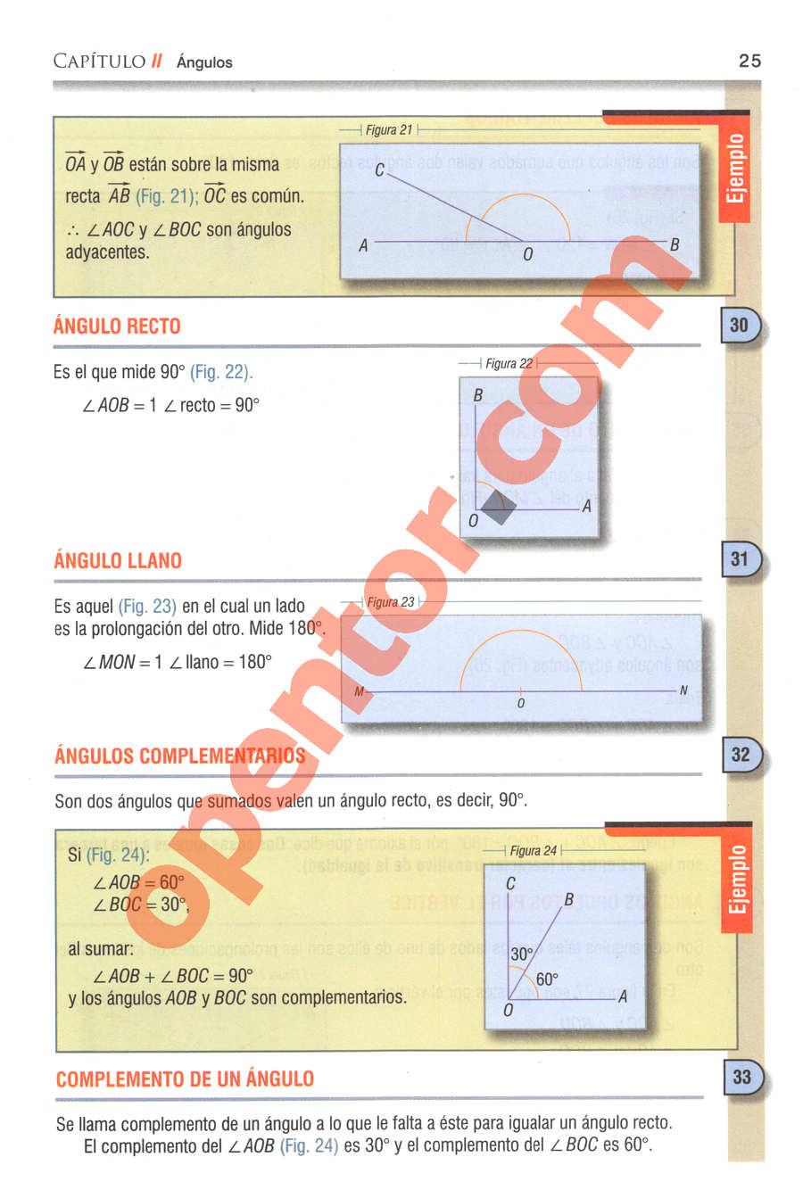 Geometría y Trigonometría de Baldor - Página 25