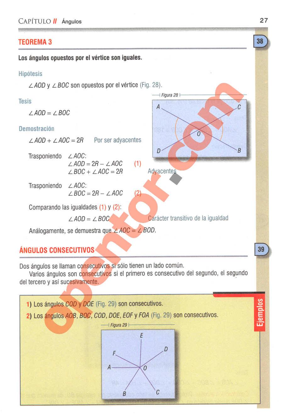 Geometría y Trigonometría de Baldor - Página 27