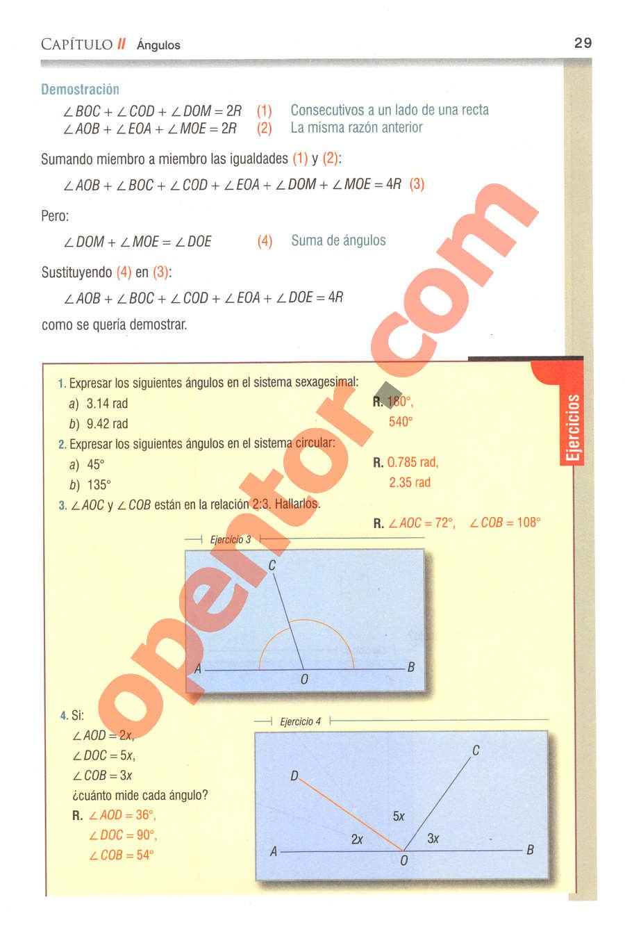 Geometría y Trigonometría de Baldor - Página 29