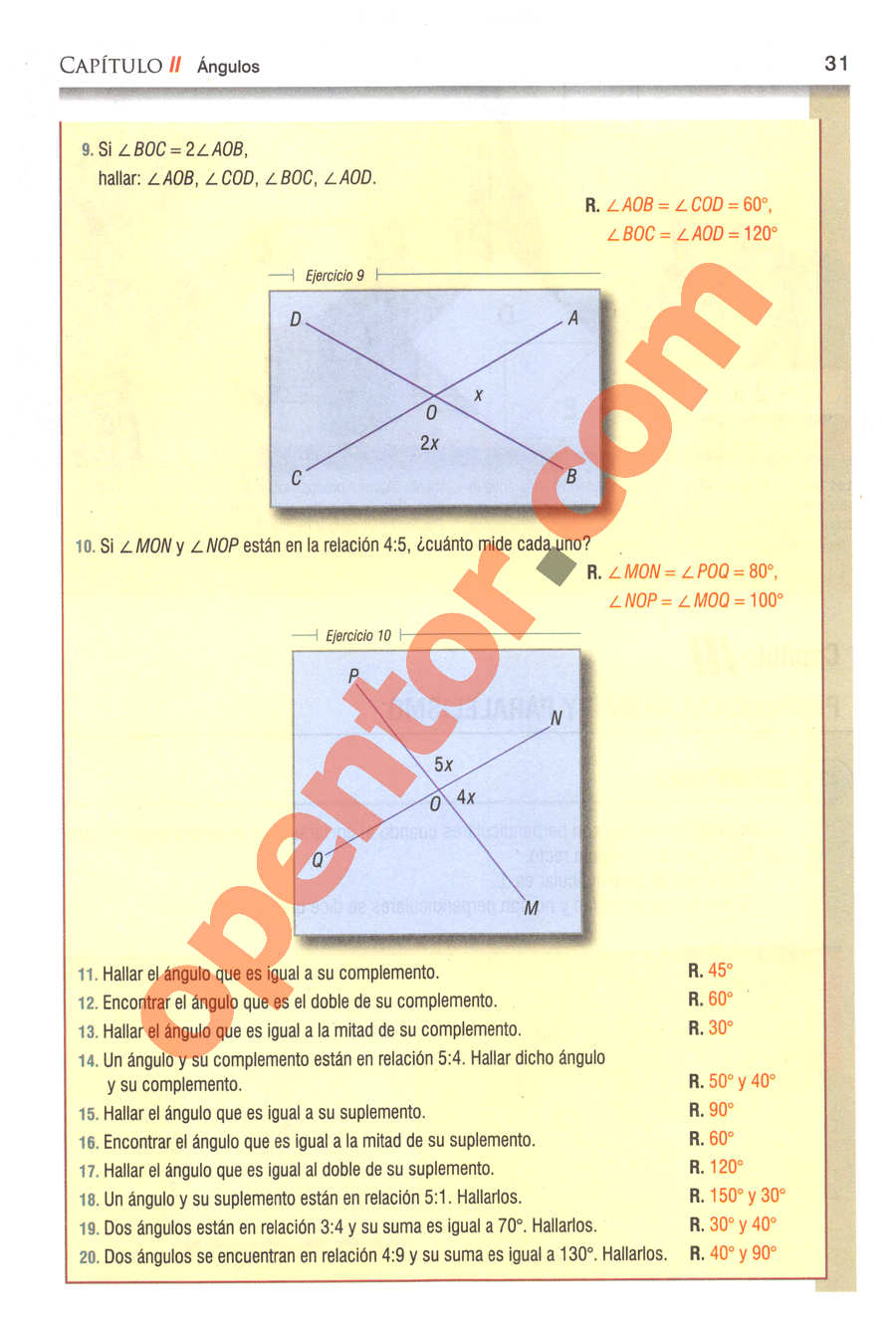 Geometría y Trigonometría de Baldor - Página 31