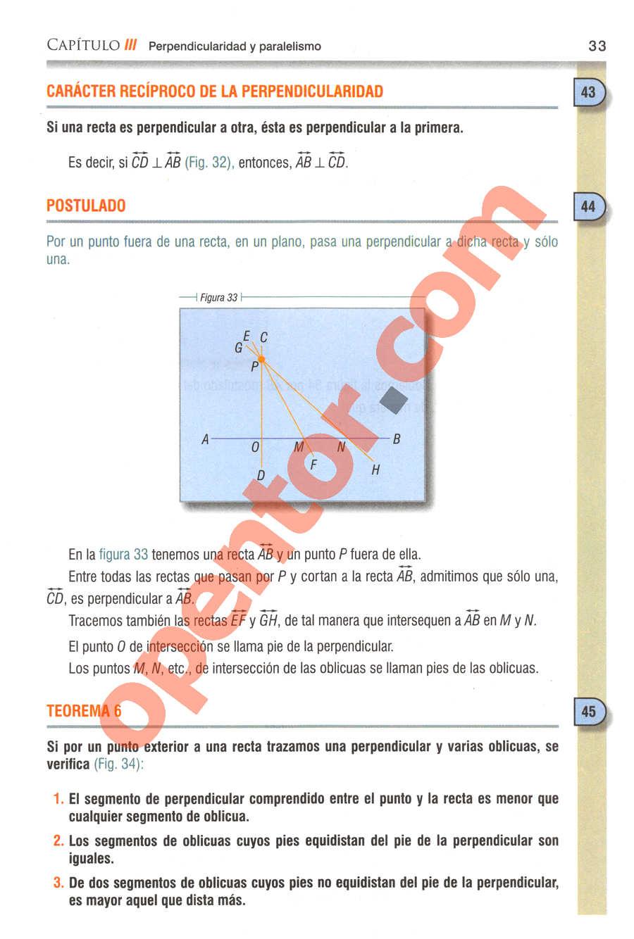 Geometría y Trigonometría de Baldor - Página 33
