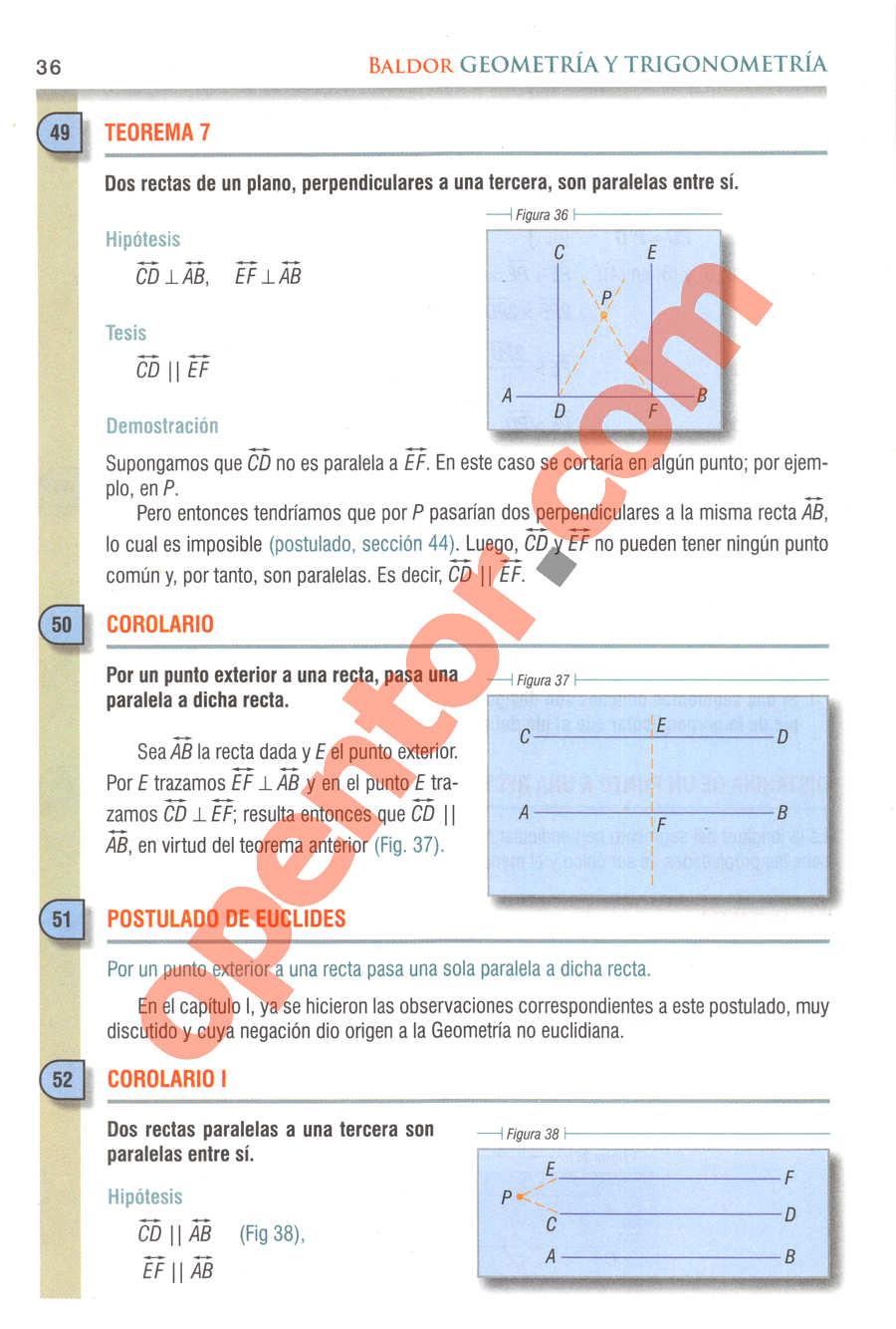 Geometría y Trigonometría de Baldor - Página 36