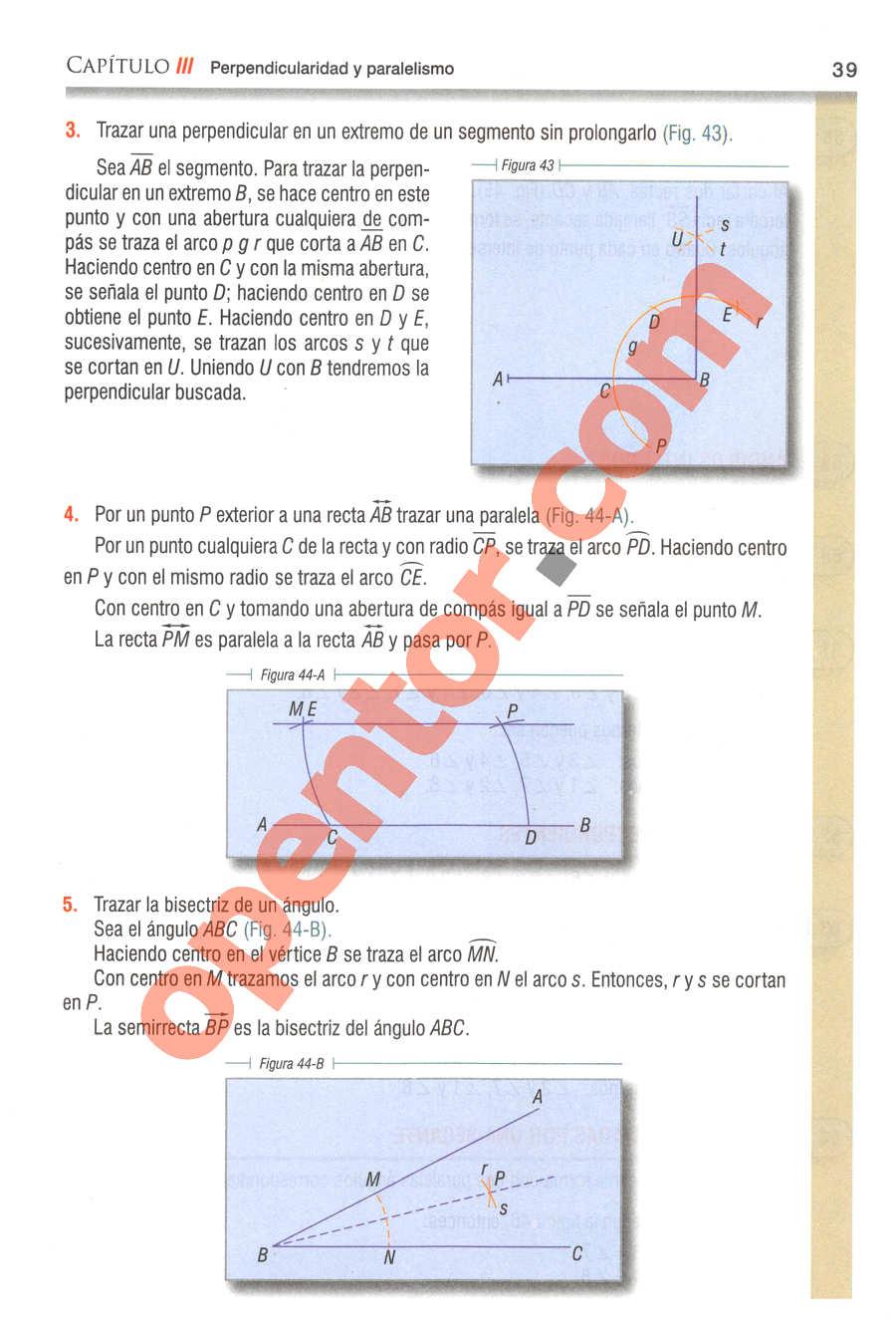 Geometría y Trigonometría de Baldor - Página 39