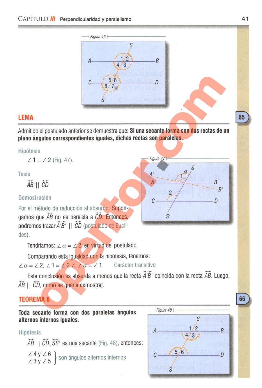 Geometría y Trigonometría de Baldor - Página 41