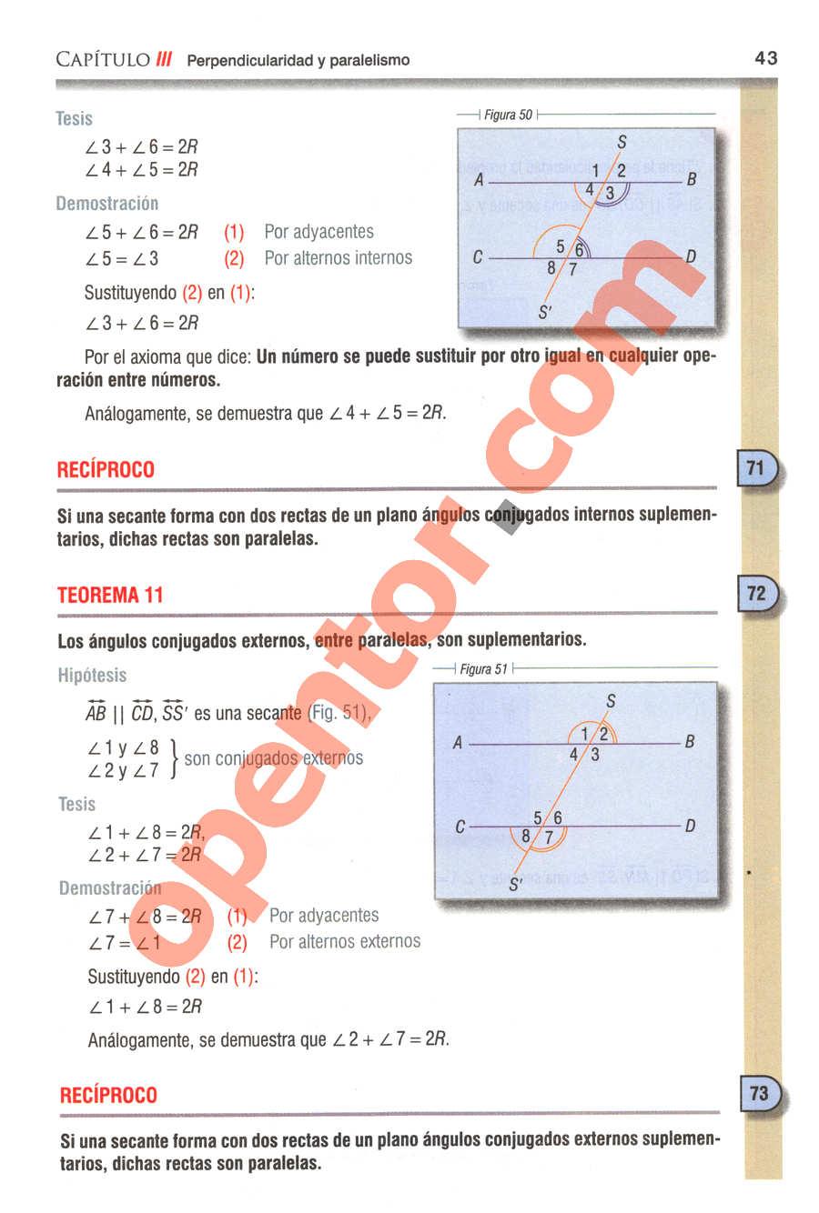 Geometría y Trigonometría de Baldor - Página 43