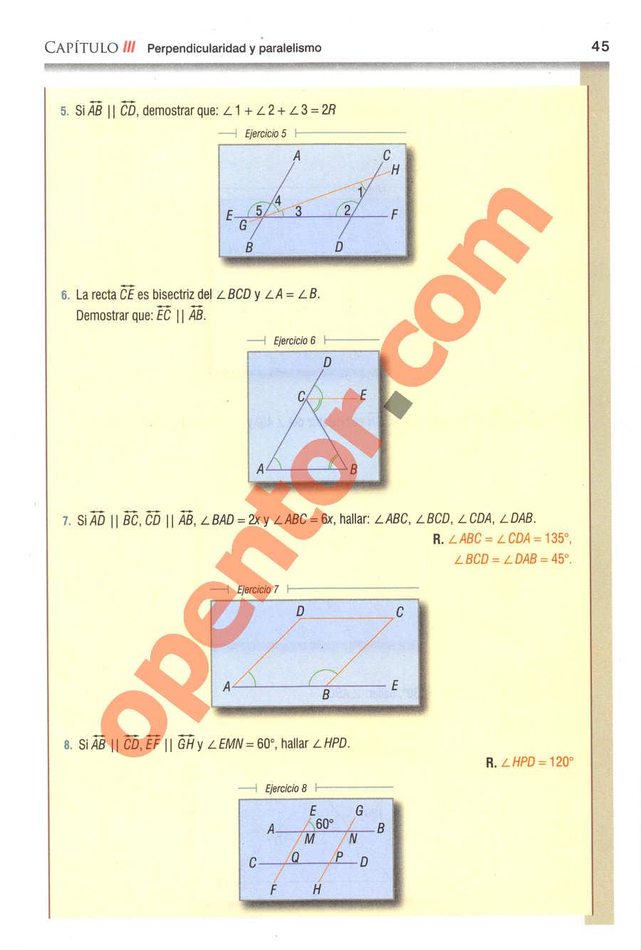 Geometría y Trigonometría de Baldor - Página 45