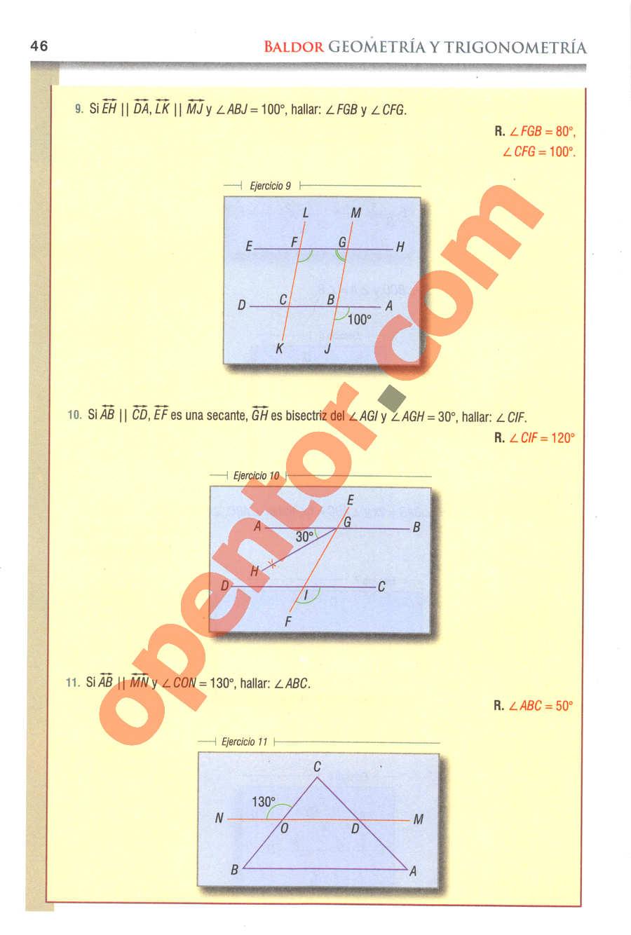Geometría y Trigonometría de Baldor - Página 46
