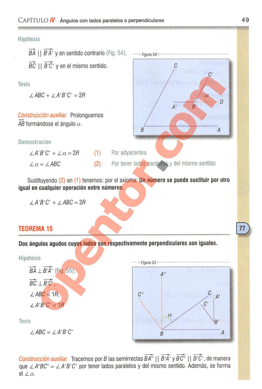 Geometría y Trigonometría de Baldor - Página 49