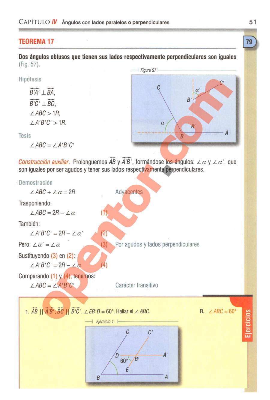 Geometría y Trigonometría de Baldor - Página 51