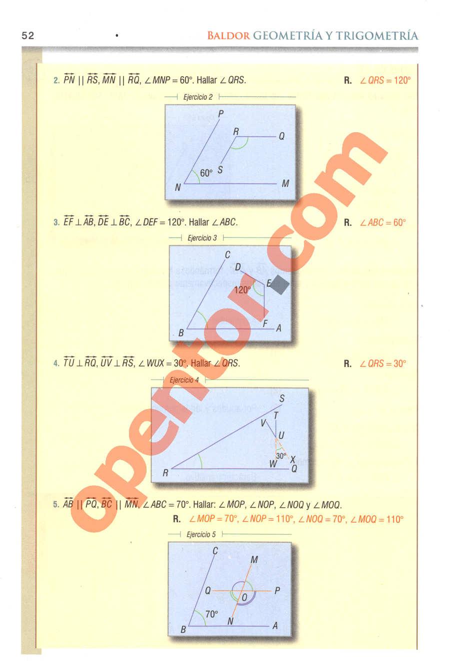 Geometría y Trigonometría de Baldor - Página 52