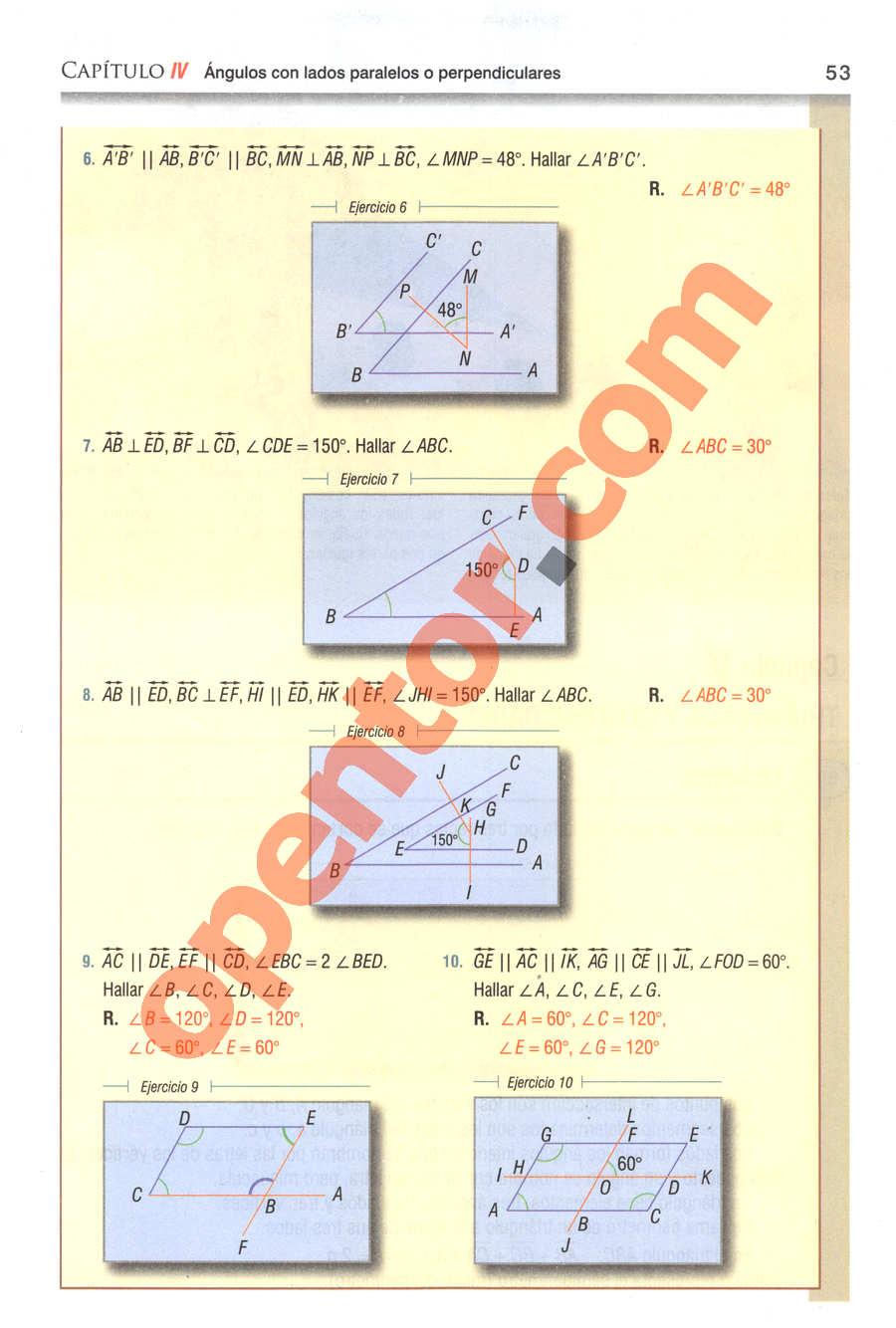 Geometría y Trigonometría de Baldor - Página 53