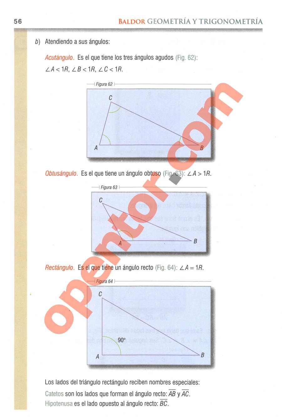Geometría y Trigonometría de Baldor - Página 56