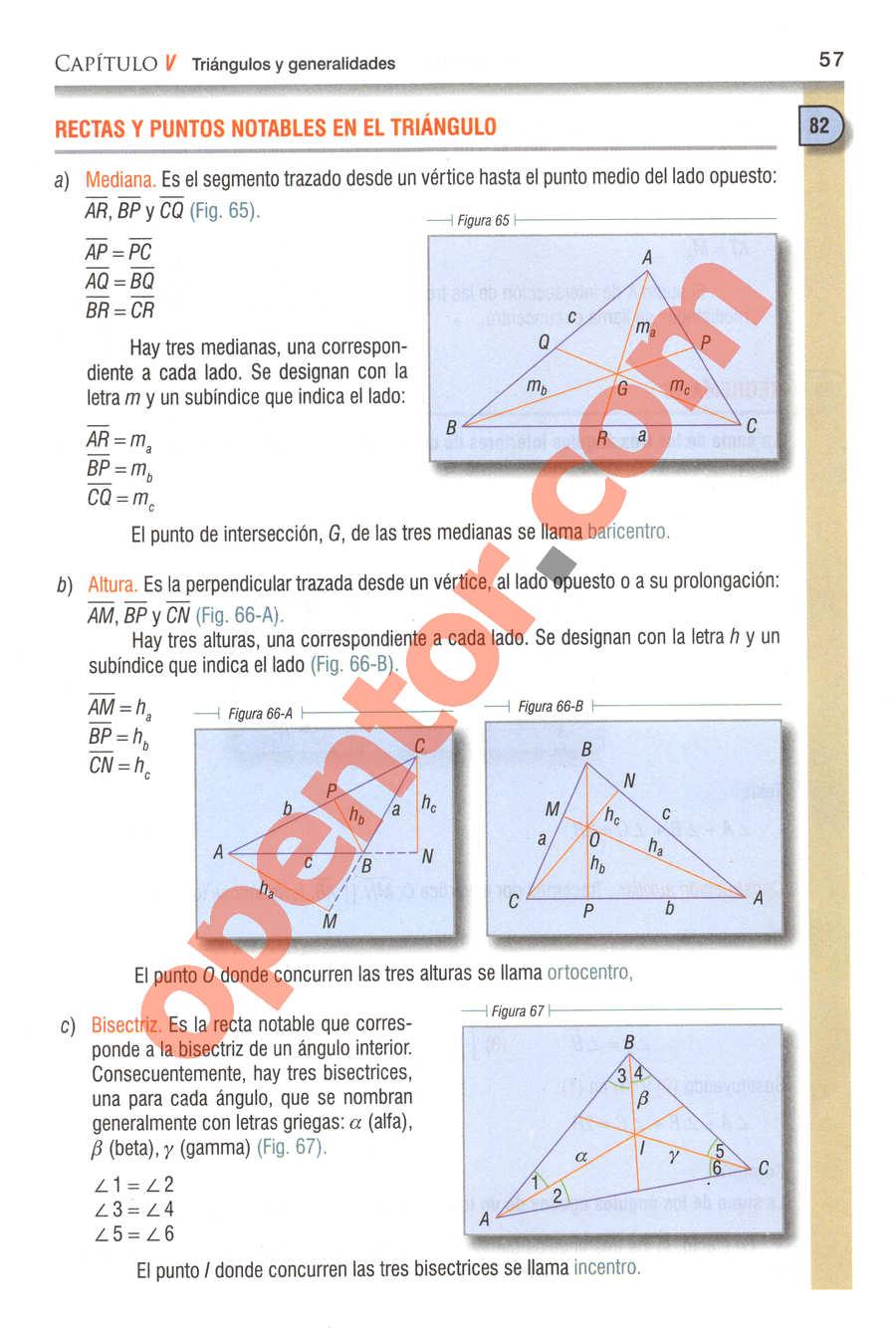 Geometría y Trigonometría de Baldor - Página 57