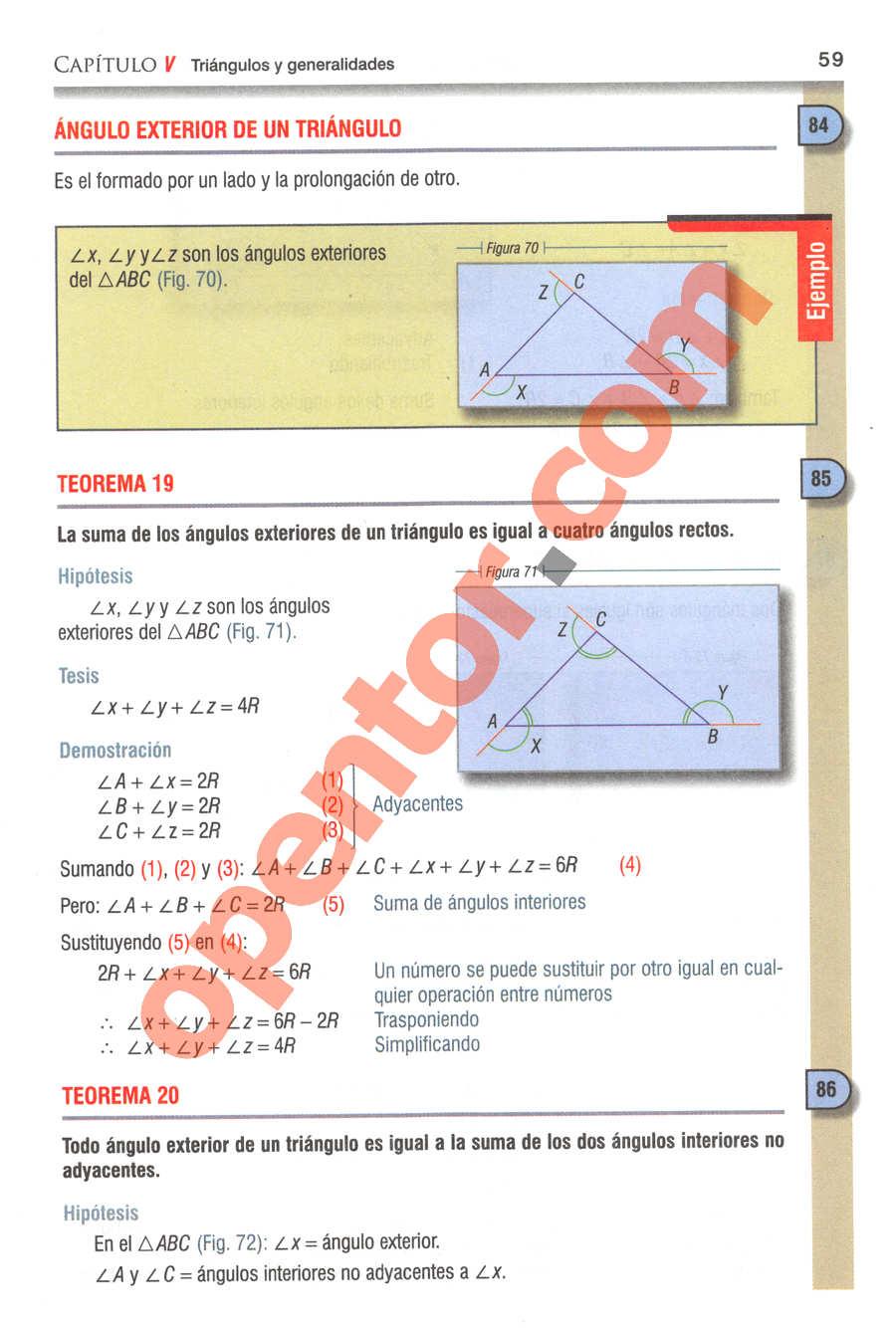Geometría y Trigonometría de Baldor - Página 59
