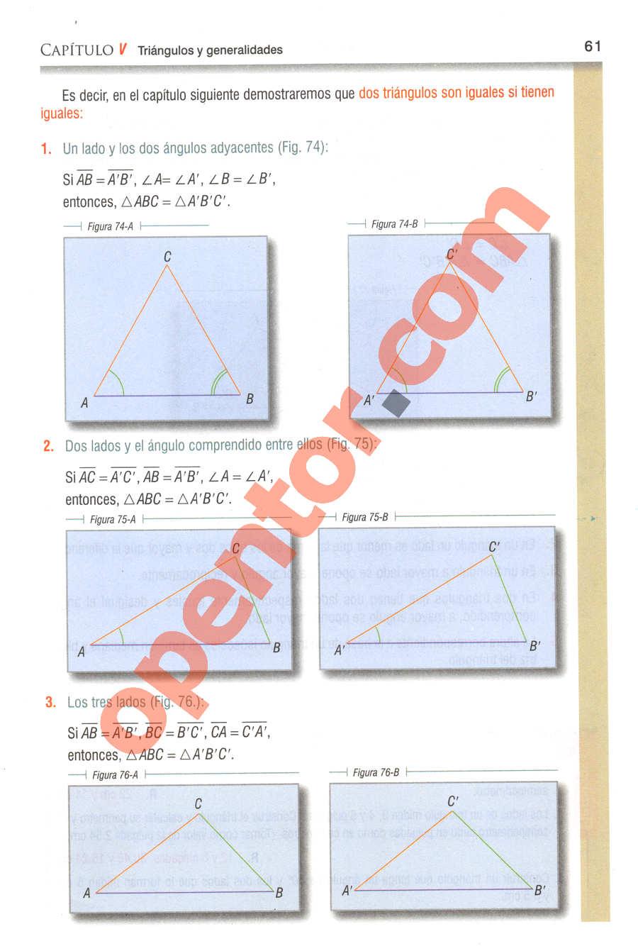 Geometría y Trigonometría de Baldor - Página 61