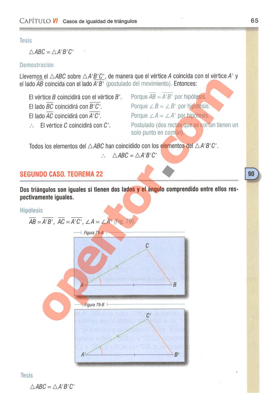 Geometría y Trigonometría de Baldor - Página 65