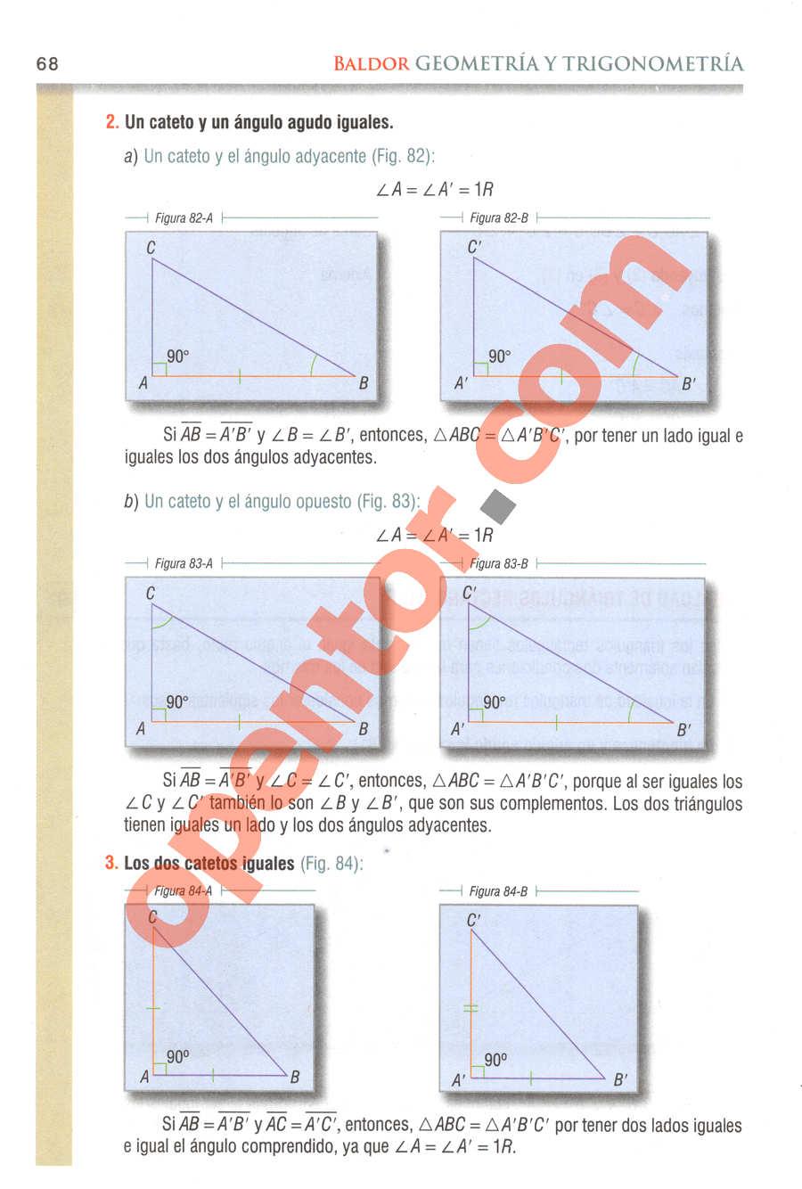 Geometría y Trigonometría de Baldor - Página 68