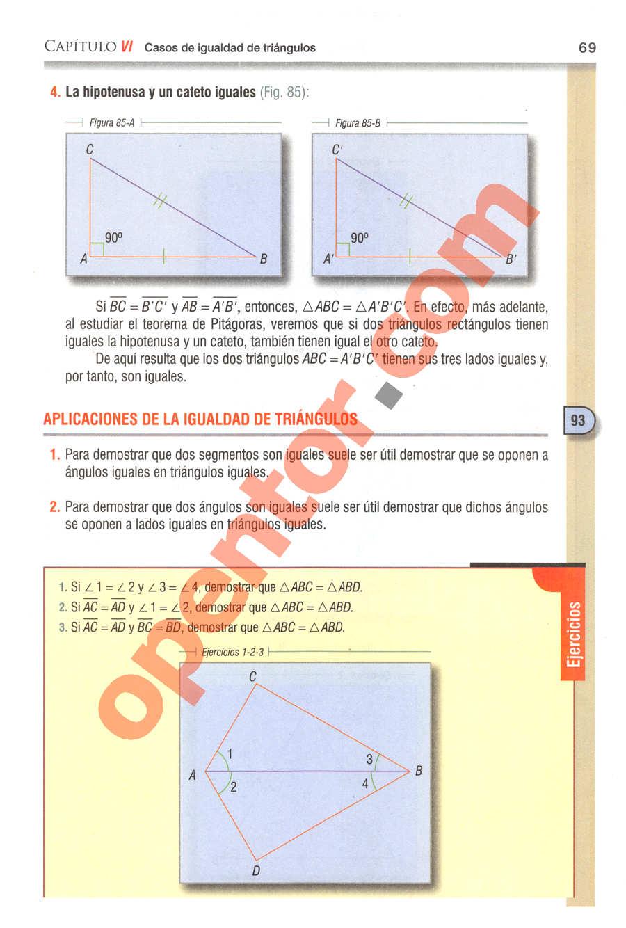 Geometría y Trigonometría de Baldor - Página 69