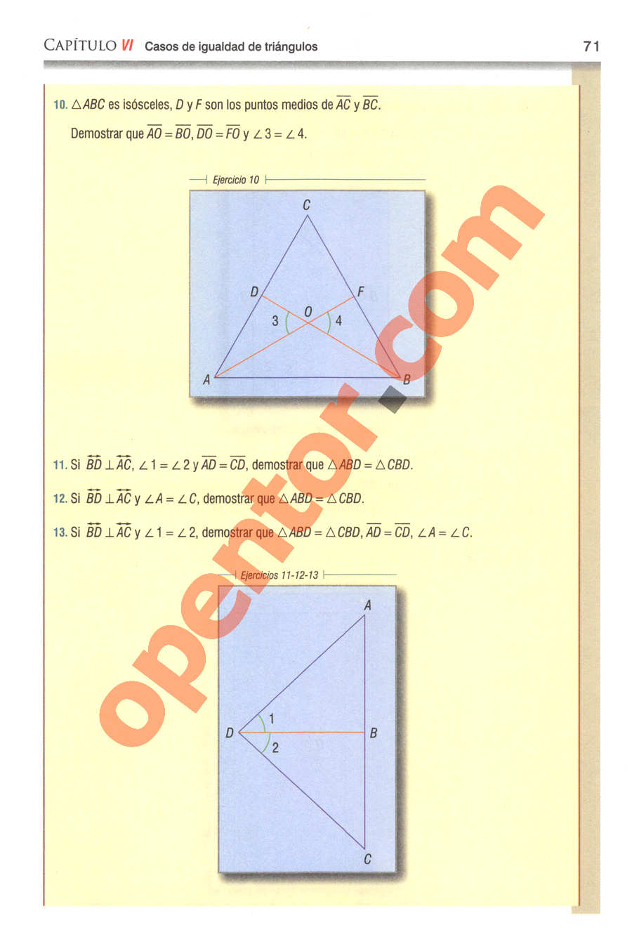 Geometría y Trigonometría de Baldor - Página 71