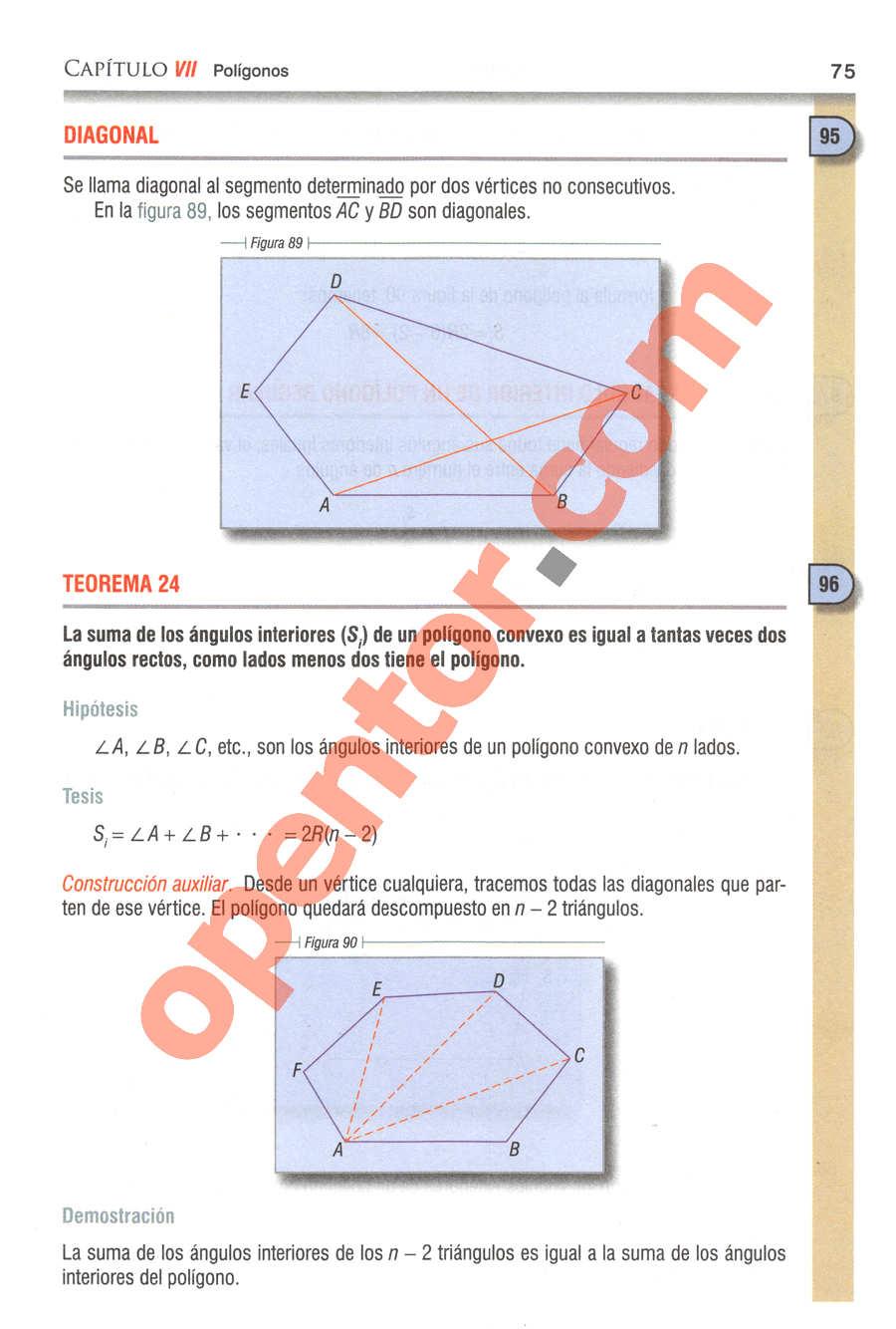 Geometría y Trigonometría de Baldor - Página 75