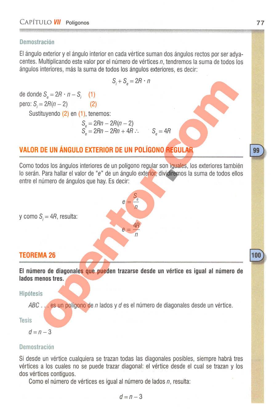 Geometría y Trigonometría de Baldor - Página 77