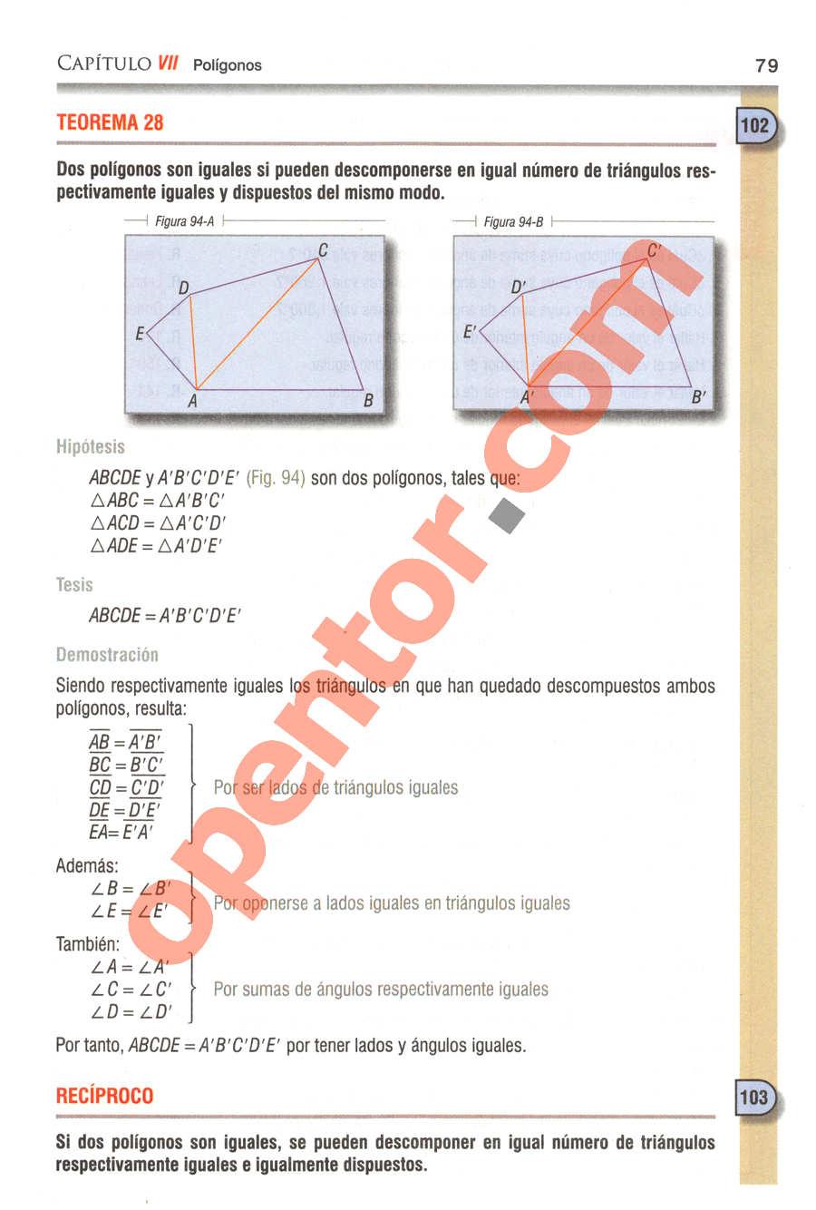 Geometría y Trigonometría de Baldor - Página 79