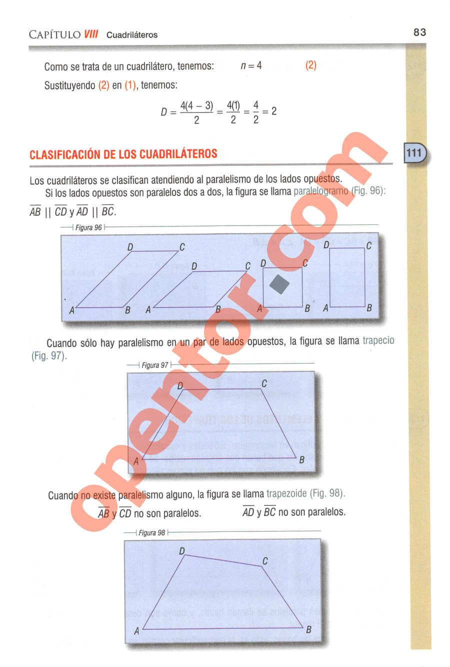 Geometría y Trigonometría de Baldor - Página 83