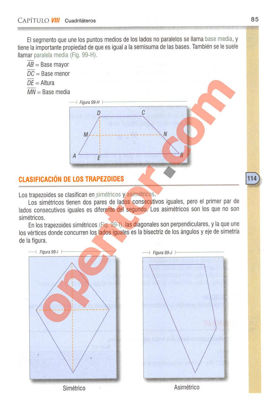 Geometría y Trigonometría de Baldor - Página 85