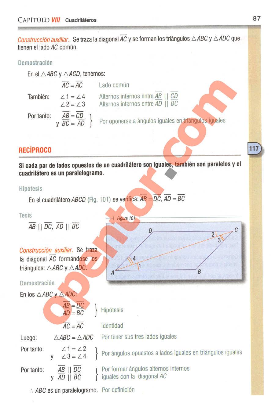 Geometría y Trigonometría de Baldor - Página 87