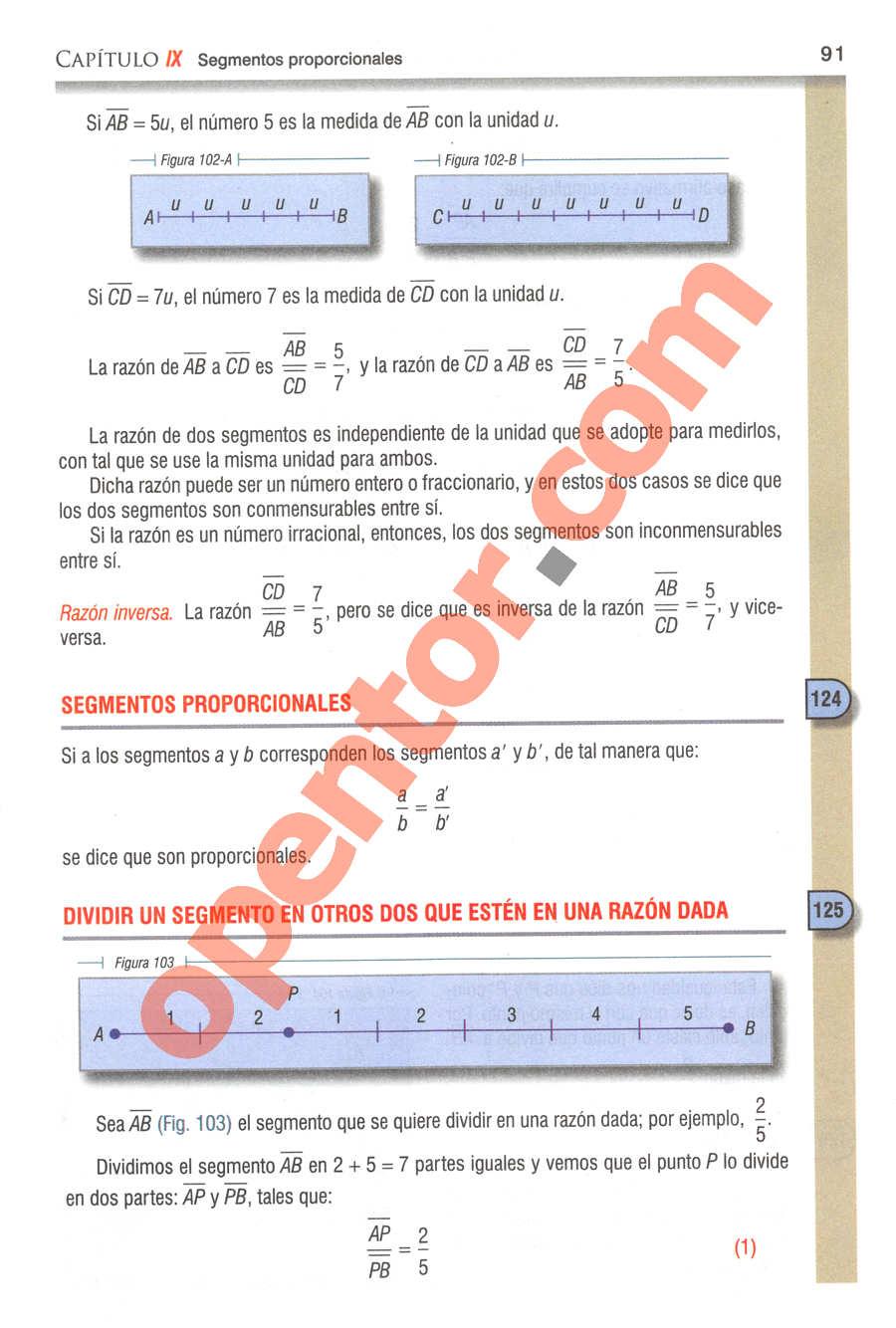 Geometría y Trigonometría de Baldor - Página 91
