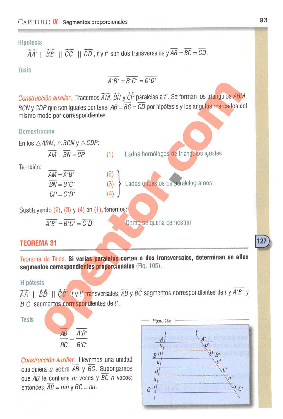 Geometría y Trigonometría de Baldor - Página 93