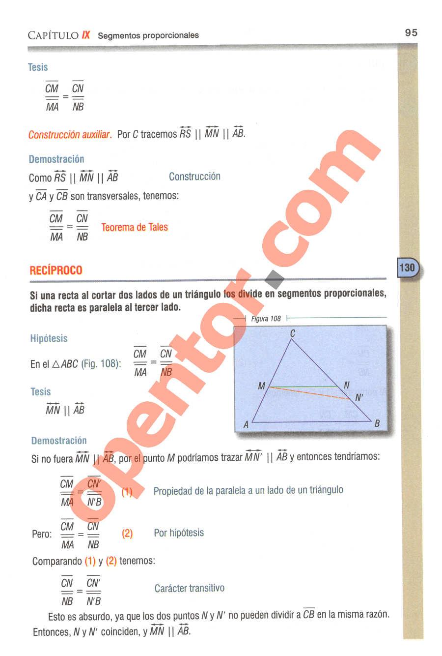 Geometría y Trigonometría de Baldor - Página 95