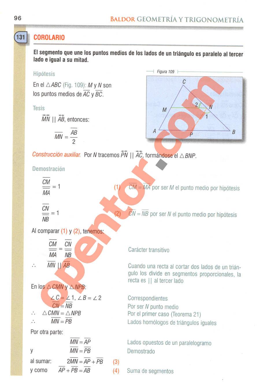 Geometría y Trigonometría de Baldor - Página 96