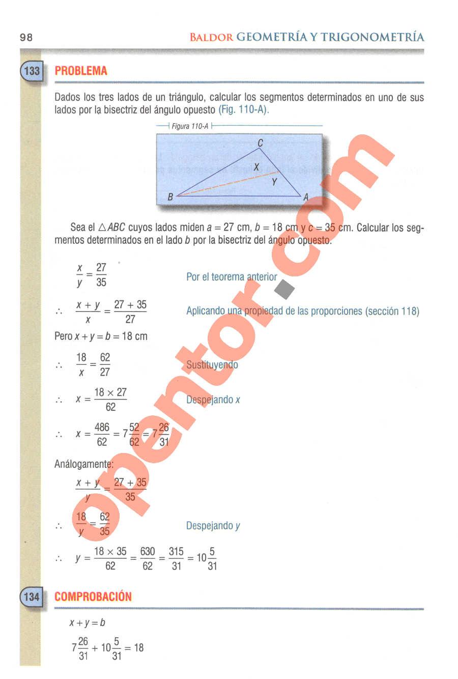 Geometría y Trigonometría de Baldor - Página 98