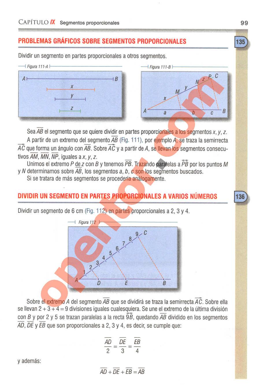 Geometría y Trigonometría de Baldor - Página 99