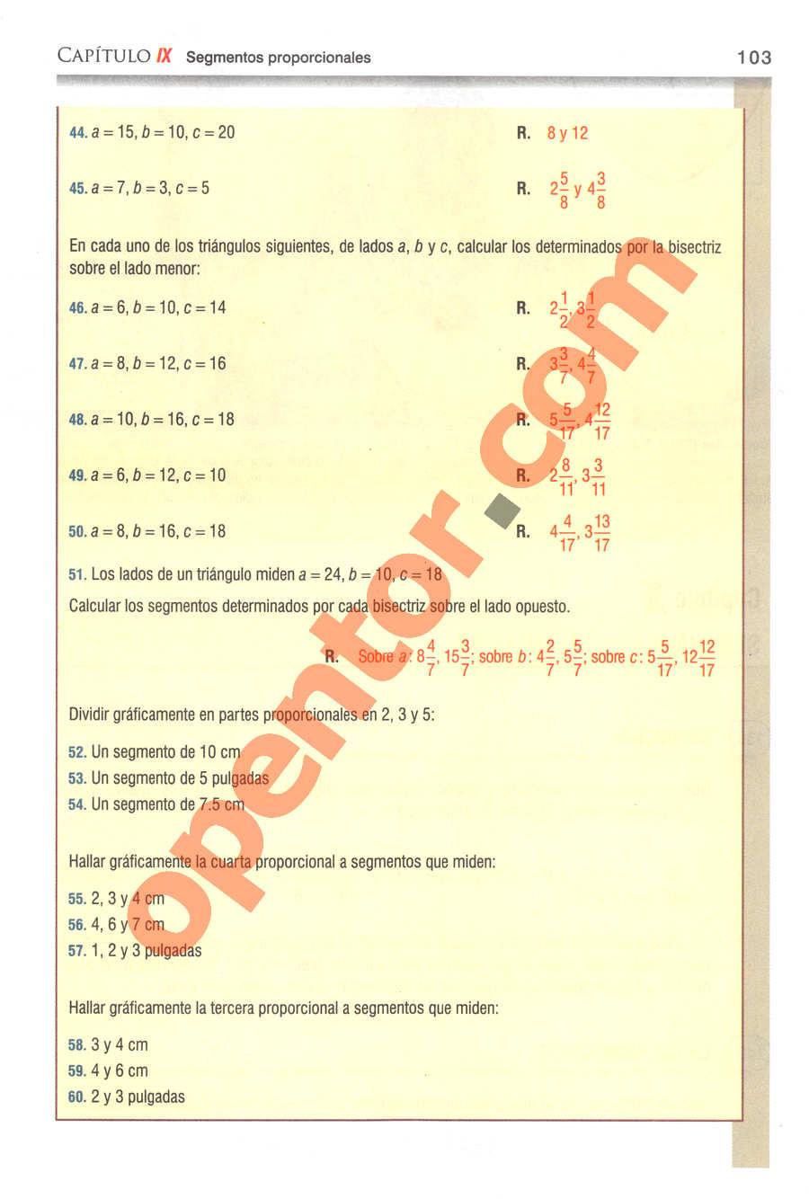 Geometría y Trigonometría de Baldor - Página 103