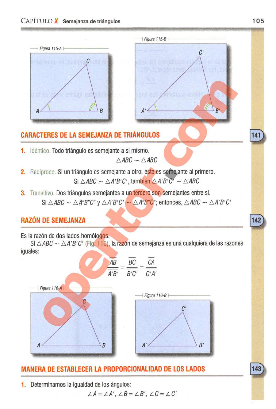 Geometría y Trigonometría de Baldor - Página 105