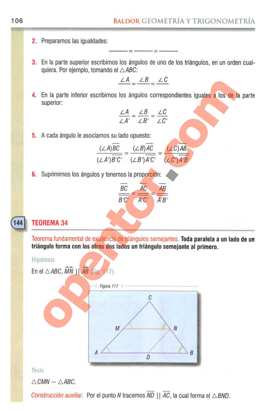 Geometría y Trigonometría de Baldor - Página 106