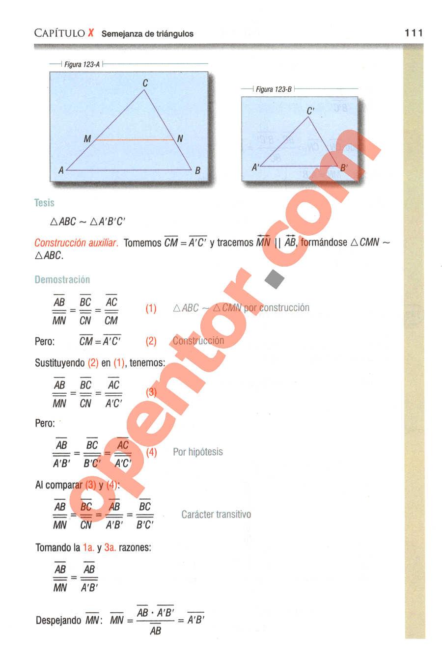Geometría y Trigonometría de Baldor - Página 111