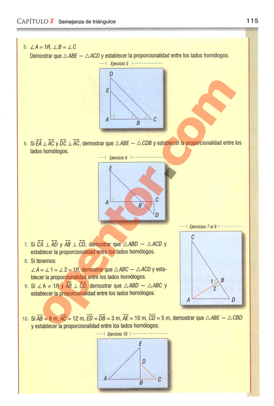Geometría y Trigonometría de Baldor - Página 115