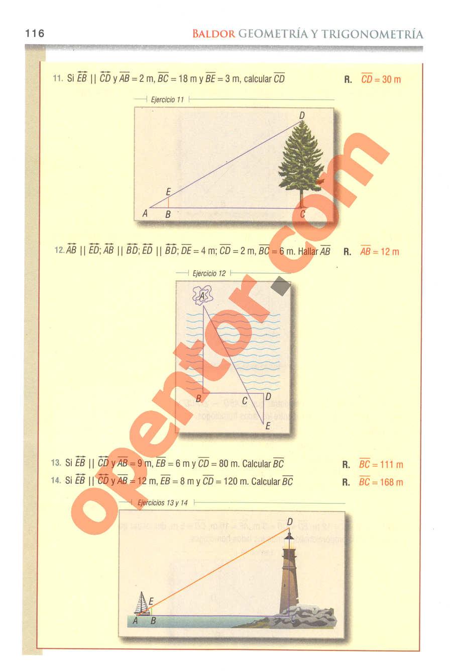 Geometría y Trigonometría de Baldor - Página 116
