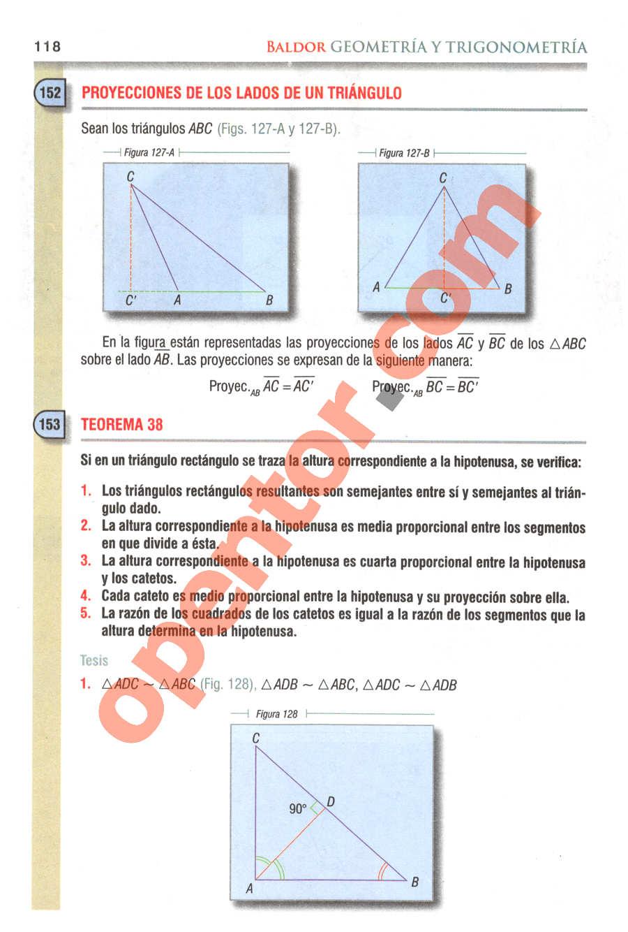 Geometría y Trigonometría de Baldor - Página 118