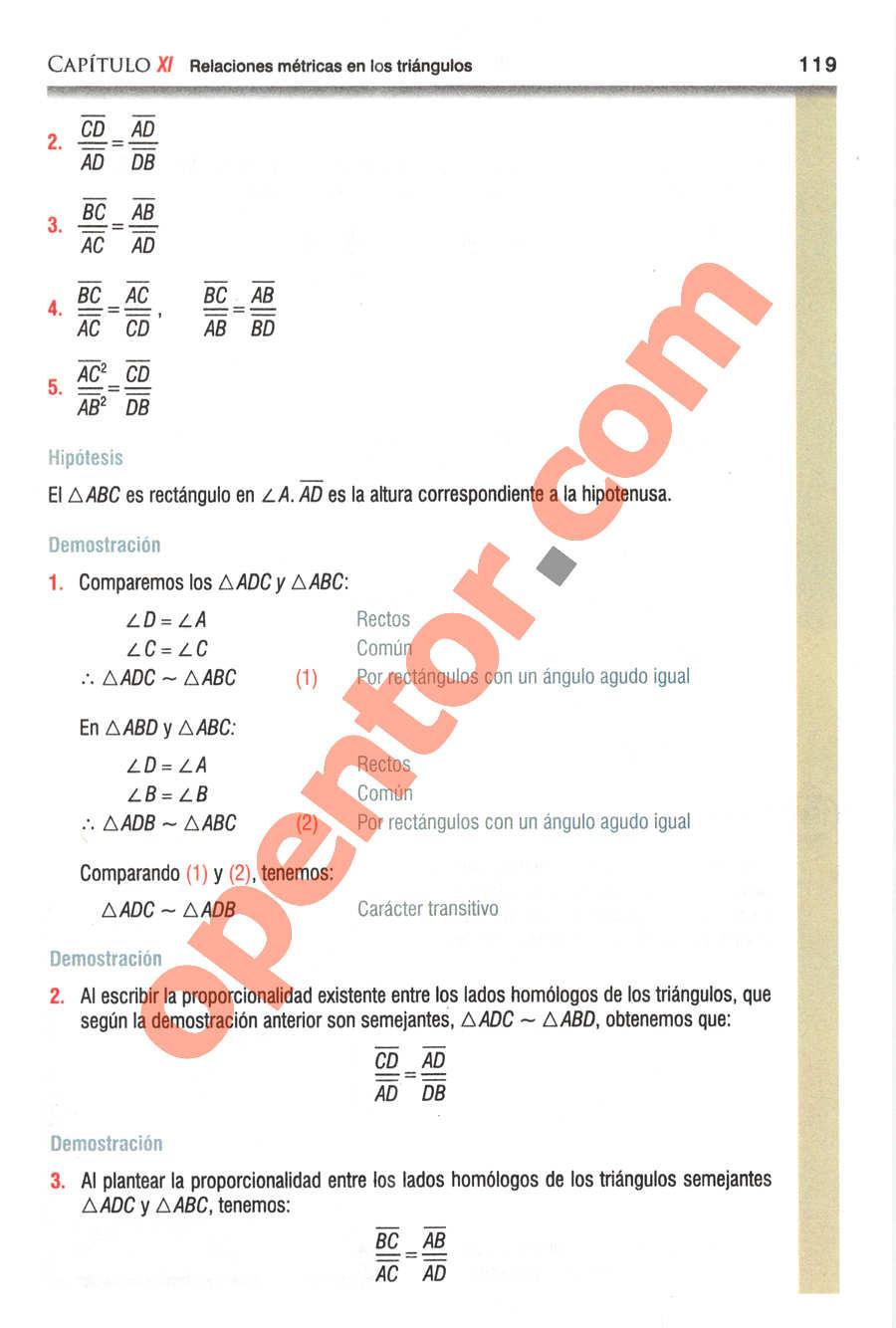 Geometría y Trigonometría de Baldor - Página 119