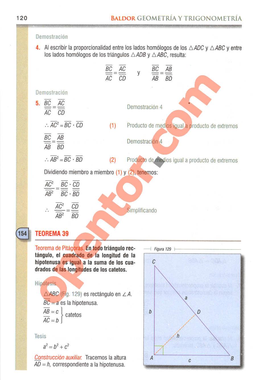 Geometría y Trigonometría de Baldor - Página 120