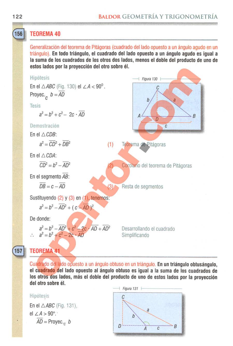 Geometría y Trigonometría de Baldor - Página 122