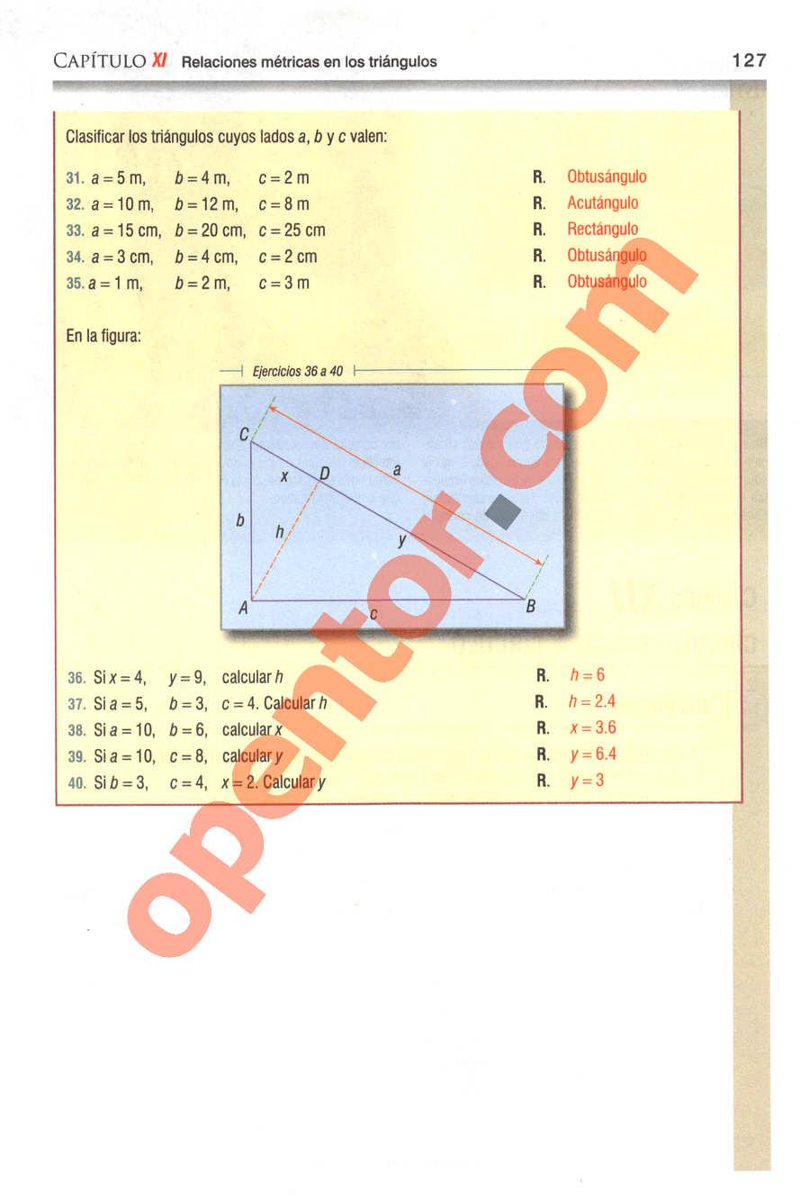 Geometría y Trigonometría de Baldor - Página 127